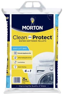 Morton salt 1499 clean protect, 25 lbs