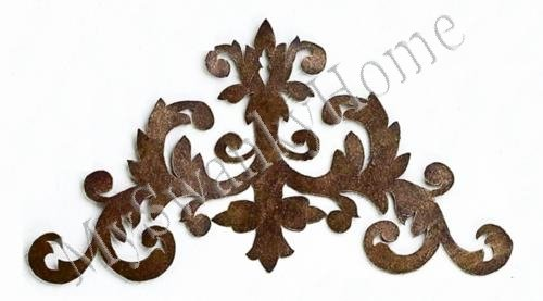 Amazon.com: Metal SCROLL Iron Wall Art Antique Topper Corner Bracket: Wall  Sculptures: Posters U0026 Prints