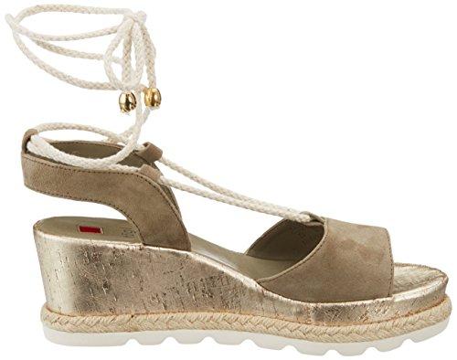 cheap best seller HÖGL Women's 5-10 3252 Flatform Sandals Green (Khaki) outlet original collections for sale LLzA7