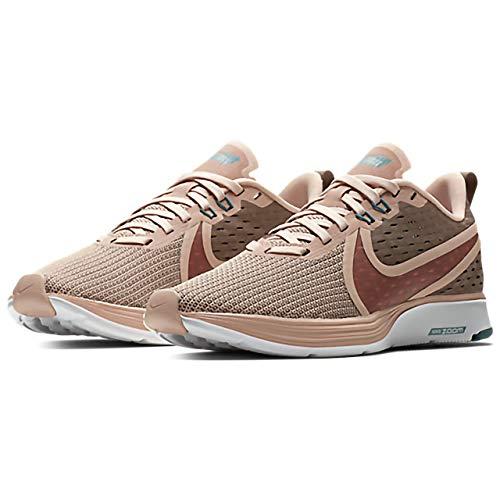 Beiges Nike brun 201 Chaussures 2 Multicolores Course Strike Femme Vison Wmns Cleste Zoom Particules Pour De Turquoise wv1wOn
