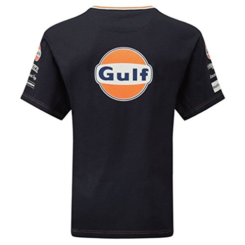 Aston Martin Racing Replica Team t-shirt blu ufficiale Nuovo