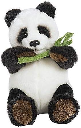 Hamleys Baby Pong Panda Soft Toy  Black and White