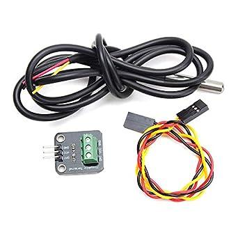 Ds18b20 Thermometer Temperature Sensor Probe Module for