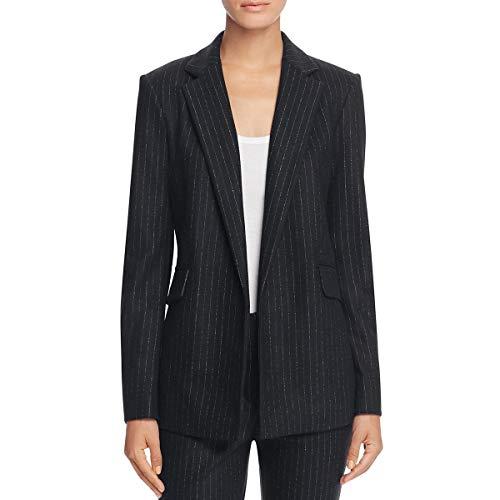 Pinstripe Lined Blazer (Theory Women's Sedeia Lsk Melbourne Blazer, Black, 2)