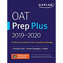 OAT Prep Plus 2019-2020: 2 Practice Tests + Proven Strategies + Online