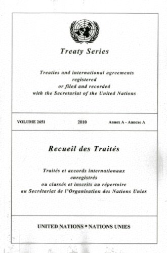 Treaty Series 2651 por United Nations: Office of Legal Affairs