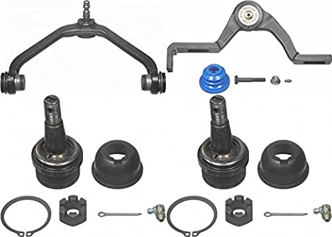 Prime Choice Auto Parts CAK7879CK555 Set of Upper Control Arms and 2 Lower Ball Joints - Ford Ranger Control Arm
