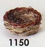 Prevue Pet Products Canary Twig Nest 3in diameter, My Pet Supplies