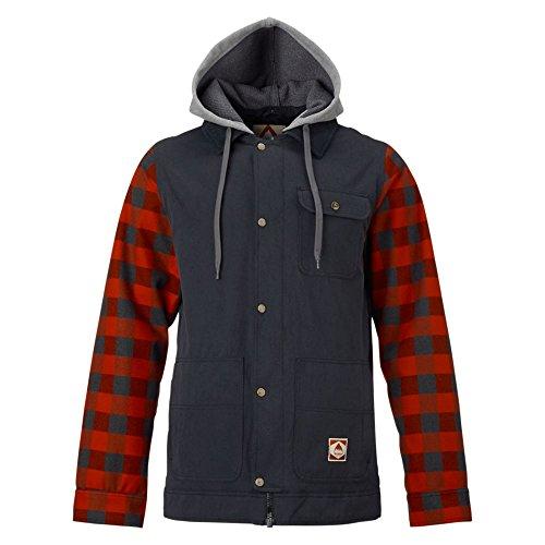 burton-mens-dunmore-jacket-true-black-buffalo-plaid-yarn-medium