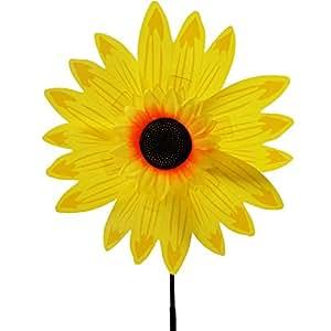 Generic flores 8pétalos viento Spinner Color Amarillo