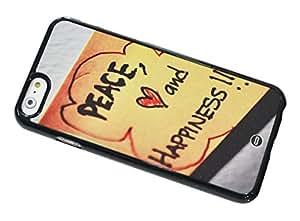 1888998580297 [Global Case] Historia De Amor Romance Día de San Valentín Pareja Paz Eres todo lo que necesito Felicidad Feliz Tristeza Soledad Publicalo Felicidad Te echo de menos Corazón (NEGRO FUNDA) Carcasa Protectora Cover Case Absorción Dura Suave para HTC ONE X