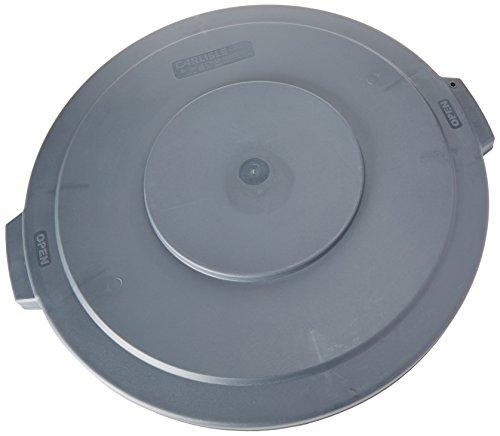 - Carlisle 34103323 Bronco Polyethylene Round Lid, 24