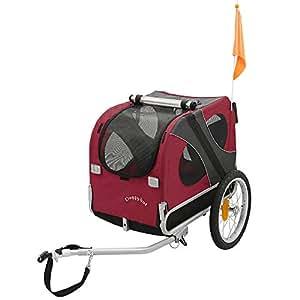 DOGGYHUT Remolque medio para perros Remolque de Bicicletas 10115-01