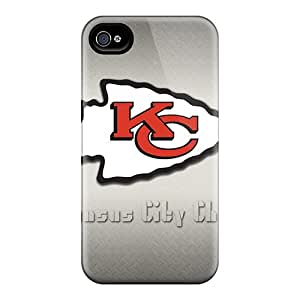 Shock Absorbent Hard Phone Case For Iphone 6 With Provide Private Custom Trendy Kansas City Chiefs Pictures KennethKaczmarek