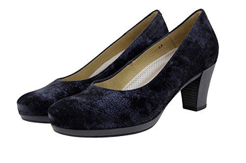 PieSanto Komfort Damenlederschuh 9301 Pump Schuhe Bequem Breit CarusoMarino