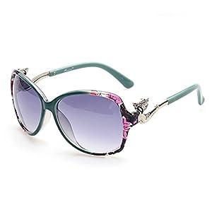 MosierBizne The New Ms Sunglasses Fashion Metal Accessories Fox(C2)