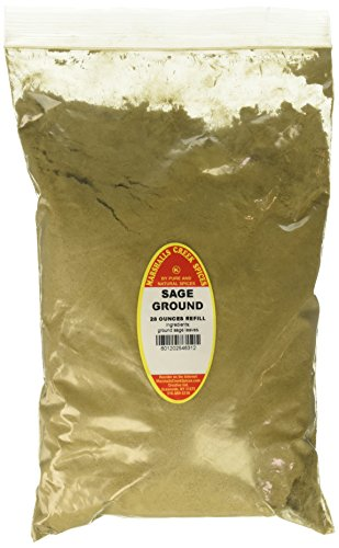 Marshalls Creek Spices Family Size Kosher Sage Ground Refill, 28 Ounce by Marshall's Creek Spices