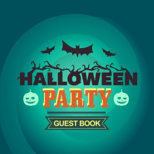 Guest Book Halloween Party: Guest Book Halloween Party V25