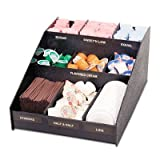 "Vertiflex - Horizontal Condiment Organizer 12W X 16D X 7 1/2H Black ""Product Category: Breakroom And Janitorial/Food Service Supplies"""