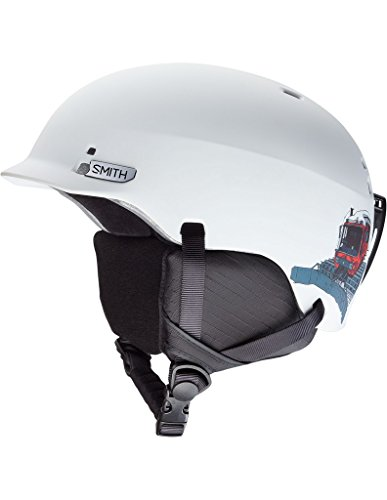Smith Optics Gage Jr. Ski Snowmobile Helmet - Matte White Vagabond / Small