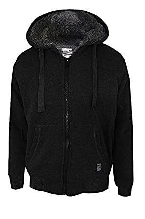 Dissident 1E6878 Gerard Mens Hooded Jacket - Black - Size Medium ...