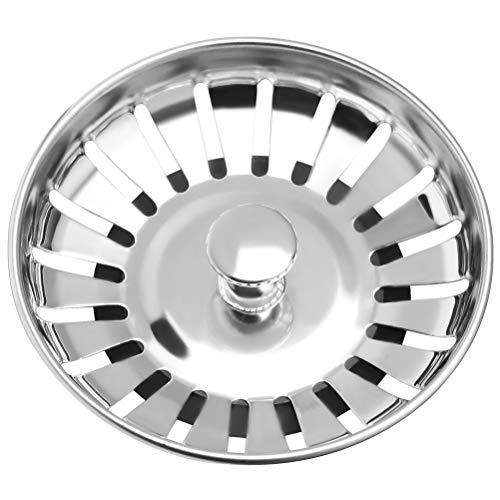 nuosen 78mm Stainless Steel Kitchen Sink Strainer Plug,Strainer Waste Plug...