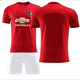 Maillot Manchester United Football Ensemble Domicile for garçon 2019/2020 WASDUNS (Size : 24#)