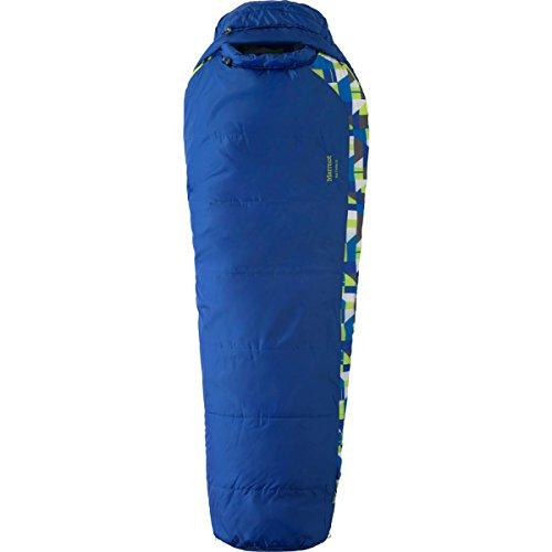 Marmot Unisex Kids' Trestles 30 - Regular Sleeping Bag Dark Azure Left Hand