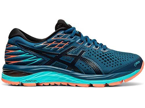 ASICS Women's Gel-Cumulus 21 G-TX Running Shoes, 7.5M, MAKO Blue/Midnight