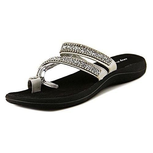 Sandale De Femme Facile Sandale Argent