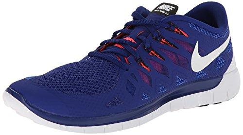 Nike  Free 5.0 - Zapatillas para mujer blau/neonrot