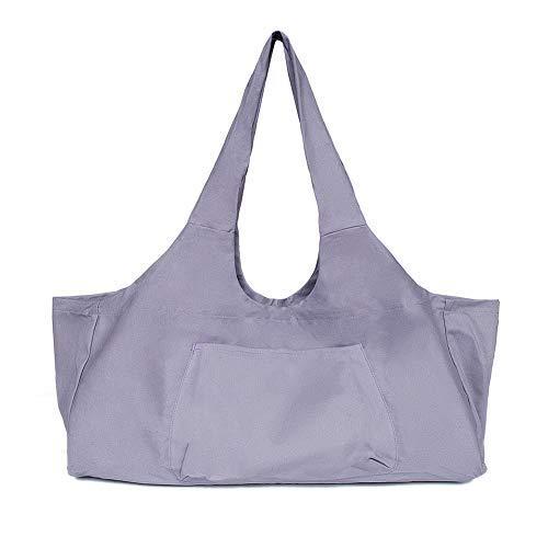 Xcellent Global Yoga Bag Multi-Purpose Large Yoga Gym Bag with Side Pocket Fits Most Size Mats SP136