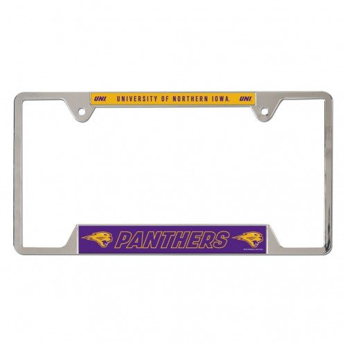 - WinCraft NCAA Northern Iowa Metal License Plate Frame