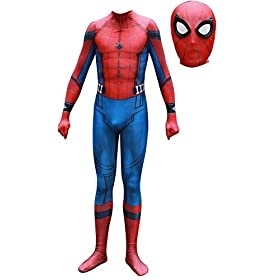 - 41UZ6df8vnL - Pizone Unisex Lycra Unitard Zentai Halloween Costumes Bodysuit Adult/Kids