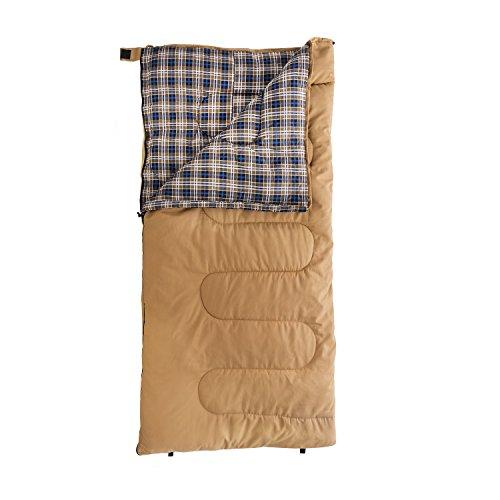 Kamp-Rite Kacx9 Woods Ultra, 15 Degree Sleeping Bag, Tan