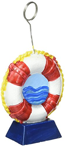 [Life Preserver Photo/Balloon Holder Party Accessory (1 count)] (Sit And Be Fit Costume)