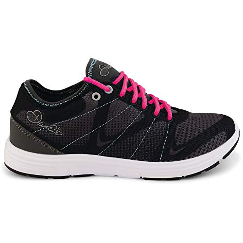 Fuze Dare neonpi Lightweight 2b Womens Shock Trainers Black Absorbing fqrqE