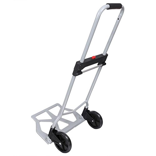 Fashine Folding Trolley Dolly Carts for Home/Industrial/Travel/Shopping, 220lbs Capacity (US Stock) ()