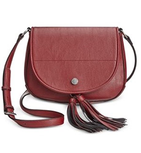Boho-Chic Vacation & Fall Looks - Standard & Plus Size Styless - Calvin Klein Tassel Detail Saddle Bag