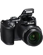 "Nikon Coolpix B500 Fotocamera Digitale Compatta, 16 Megapixel, Zoom 40x, VR, LCD Inclinabile 3"", Full HD, Bluetooth, Wi-Fi, Nero"