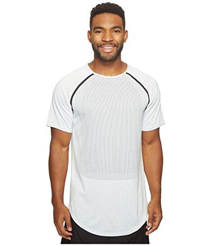 PUMA Men's Stampd Raglan Sleeve Shirt White Shirt
