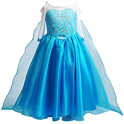 Cinderella Dress Princess Costume Halloween Party Dress up: Clothing