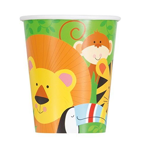 9oz Animal Safari Party Cups, 8ct