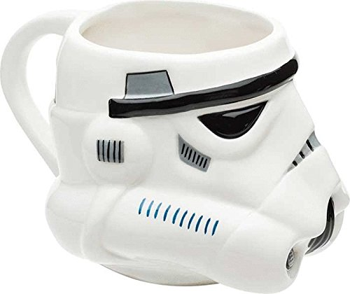 Star Wars Classic Stormtrooper Ceramic Sculpted Coffee Mug ()