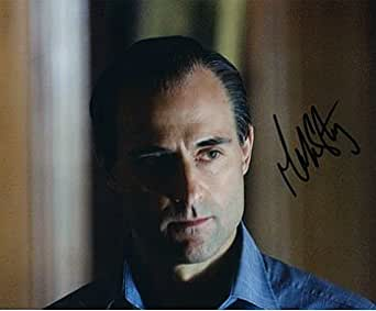 MARK STRONG (RocknRolla) 8x10 Celebrity Photo Signed In ...