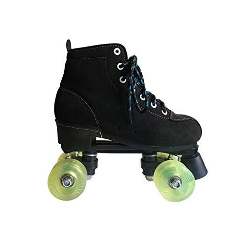化学薬品検出可能新鮮なLIUXUEPING ダブル列スケート、 ローラースケート、 二列のスケート、 四輪のローラースケート