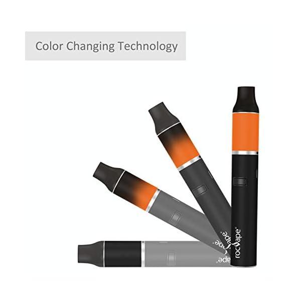 Portable Herbal Cigarettes Dry Herb Vaporizer -Herb X Tobacco Smoking Vaporiser I Customizable Temperature Control Kit Produce Pure N Tasty Vapor