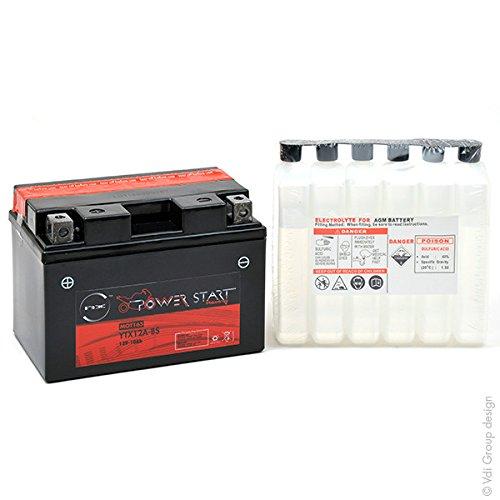 NX - Batteria moto YTX12A-BS 12V 10Ah