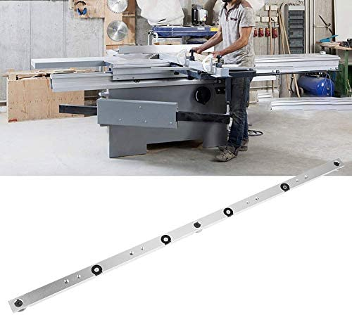 YYONGAO High Precision, 650mm Aluminum Alloy Rail Miter Bar Slider Table Saw Gauge Rod Miter Gauge
