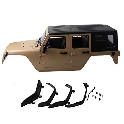 Panamami 1 10 313mm Radstand Karosserie für RC Crawler Jeep Cherokee Wrangle Axial SCX10 & SCX10 II 90046 90047 - Grau